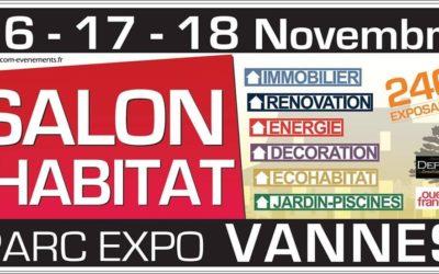 Salon de l'Habitat Novembre 2019 à Vannes